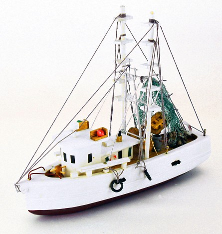 "8"" Wood Shrimp Boat"