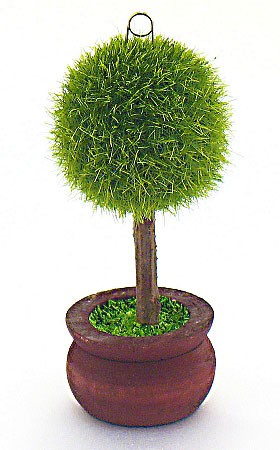 Miniature Green Topiary