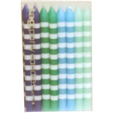 "3"" Ocean Dazzle Birthday Party Candles (24) - 3 styles"