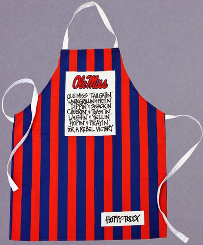 University of Mississippi Ole Miss Rebels Apron
