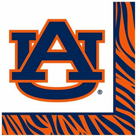 Auburn Tigers Luncheon Napkins (20) **CLEARANCE**