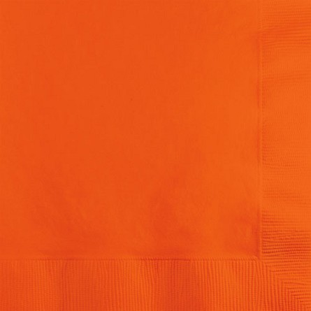 Sunkissed Orange Beverage Napkins (50)
