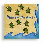 Baby Sea Turtles Beverage Napkins