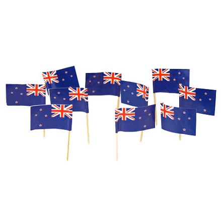 New Zealand Flag Toothpicks (100)