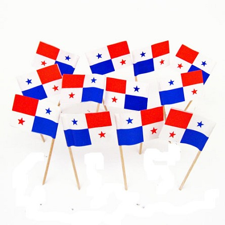 Panama | Panamanian Flag Toothpicks (100)