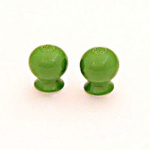 Authentic Fiestaware Salt & Pepper - Shamrock
