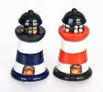 Striped Salt & Pepper Lighthouses