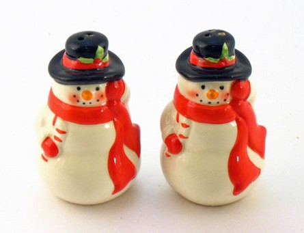 Snowman Salt & Pepper