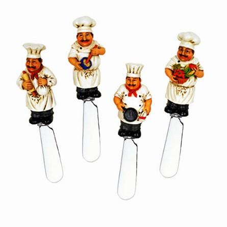 Cooking French Chef Handle Spreaders (4 assorted)