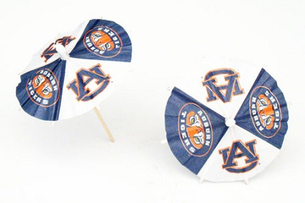 Auburn Tigers Drink Umbrellas/Parasols (24)