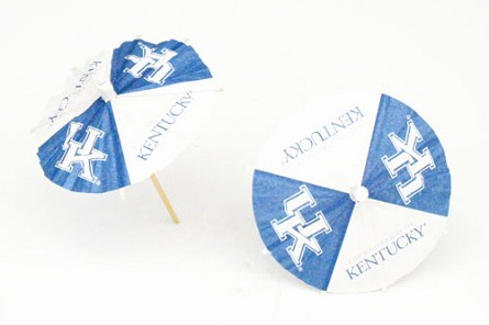 Kentucky Wildcats Drink Umbrellas/Parasols (24)