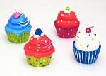 Cupcake Candles - Assorted Styles