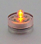 Yellow Amber Submersible LED Accent/Floral Light
