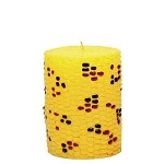 Indian Harvest Corn Decorative Pillar Candle