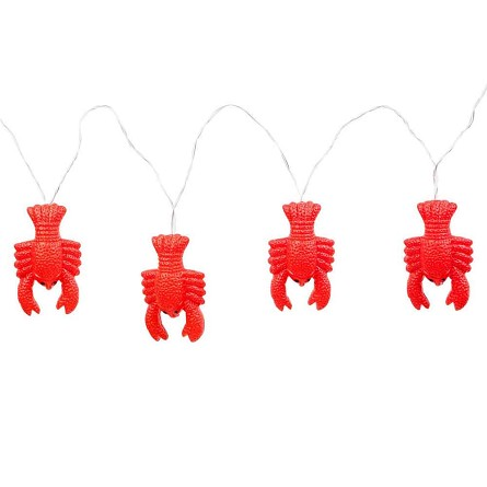 13' Red Lobster Battery-Powered String Lights