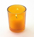 Orange Votive Holder