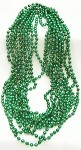 Green Metallic Beads