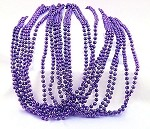 Purple Metallic Beads
