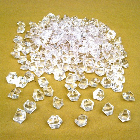 Acrylic Crystal Ice Rocks Table Scatter (1 lb) - 3 colors