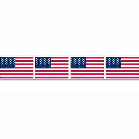 20-foot American Flag Party Tape