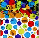 Multi-colored Dots Confetti
