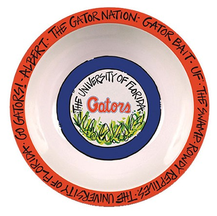 "12"" University of Florida Melamine Serving Bowl"