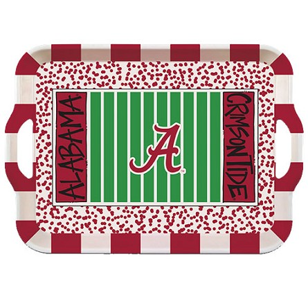 "15"" University of Alabama Melamine Stadium Tray"