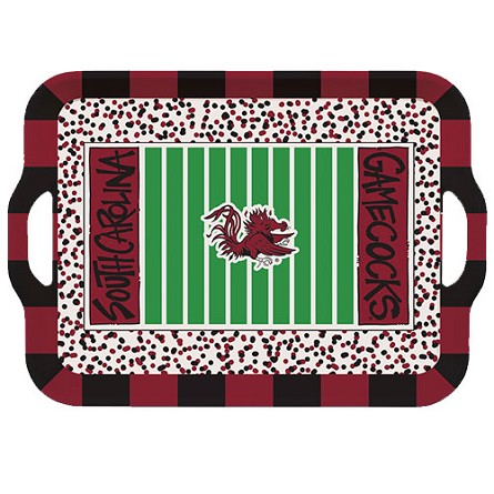 "15"" University of South Carolina Melamine Stadium Tray"
