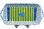 "16"" x 8"" University of North Carolina Ceramic Stadium Platter"
