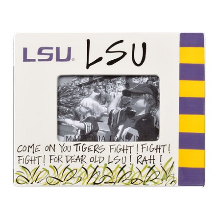 "9"" x 11"" Louisiana State University Ceramic Photo Frame"