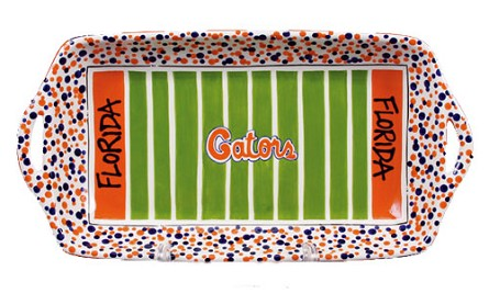 "16"" x 8"" University of Florida Ceramic Stadium Platter"