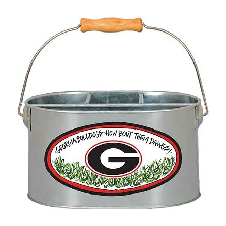 "9.5"" x 7"" University of Georgia Metal Utensil Holder"