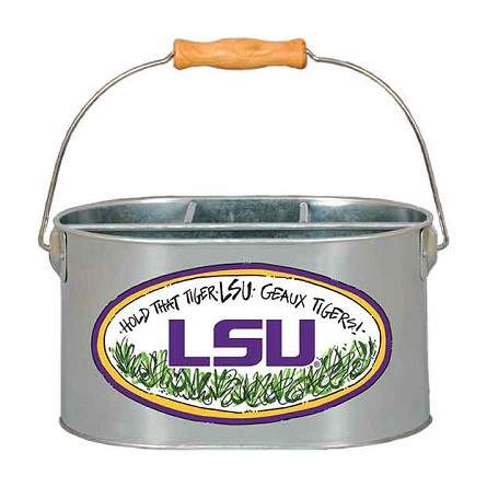 "9.5"" x 7"" Louisiana State University Metal Utensil Holder"