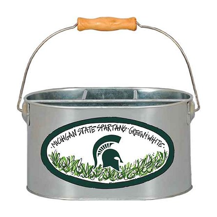 "9.5"" x 7"" Michigan State University Metal Utensil Holder"