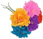 Hand-Made Paper Ruffled Flower (1)