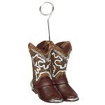 Fancy Cowboy Boots Weight/Photo Holder