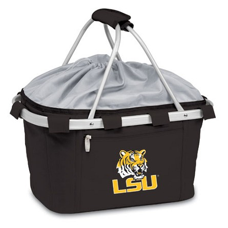 Picnic Time Collapsible LSU Tigers Picnic Basket