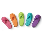 Flip Flop Shaped Soap - 5 colors