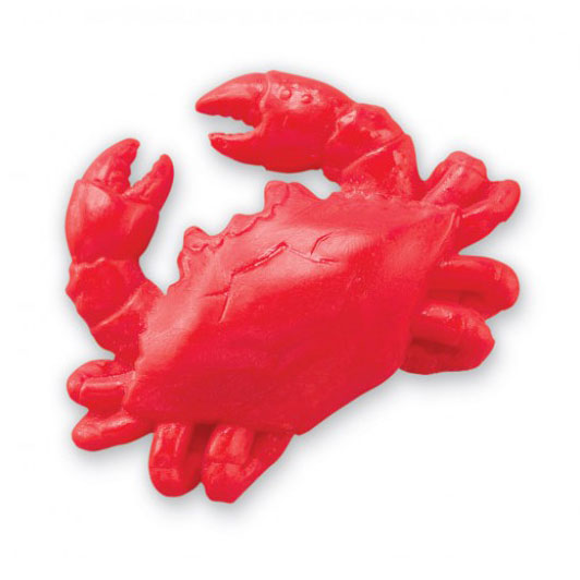 Crab Shaped Soap - Red or Blue