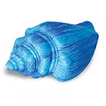 Turquoise Conch Sea Shell Shaped Soap