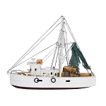 Nautical Wood Shrimp Boat - 2 sizes