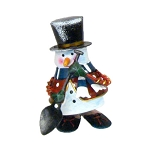 Metal Bouncing Snowman Figure **CLEARANCE**