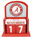 University of Alabama Perpetual Calendar