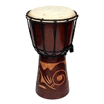Rustic Djembe Tribal Drum - 4 sizes