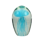 Jellyfish Art Glass Bubble Sculpture - 3 colors