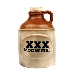 XXX Moonshine Jug Vase With Cork Stopper Centerpiece