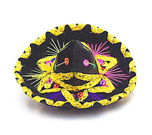 Mini Charro Sombrero Mexican Theme Party Decorations