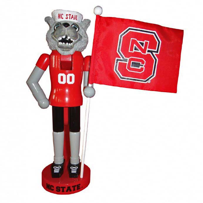 NC State Wolfpack Nutcracker Christmas Ornament Sports & Outdoors ...