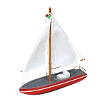 Wooden Sailboat (6 colors)