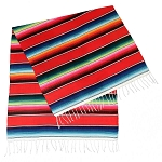 Authentic Mexican Serape Blanket - 40